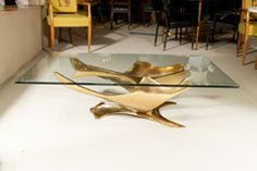 Fred BROUARD -bronze Sculpture/cocktail Table at 1stdibs