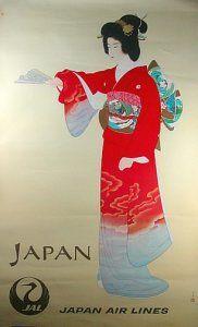 JAL - Japan  1987