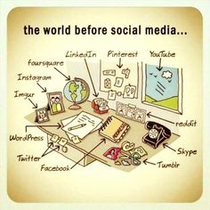 Still love this way of life.. best way to avoid conflict and care abt other people life through media