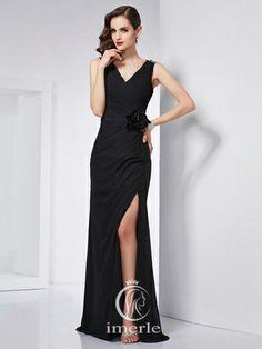 #sexy #mermaid v-neck prom dress share more #gorgeous #prom dress on www.imerle.com/en/prom-dresses/?p=8