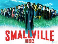 Smallville's Heroes: Zan, Kara, Zatana, Martian Manhunter, Impulse, Cyborg, Aquaman, Black Canary, Green Arrow, The Blur/Superman, Hawkman, Dr. Fate, Star Girl, Cosmic Boy, Lightning Lad, Saturn Girl, Brainiac 5, Jayna