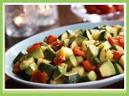 Holiday Vegetable and Hass Avocado Sauté