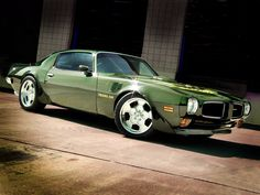 Trans Am with Soccer Ball Rims