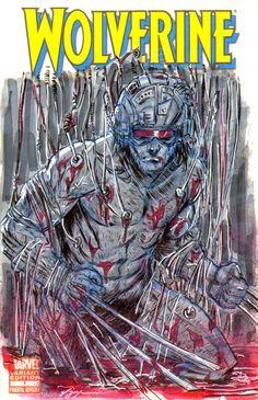 Wolverine sketch cover by brokenluk.deviantart.com on @deviantART