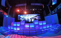 GEO Events staging and LED wall panels