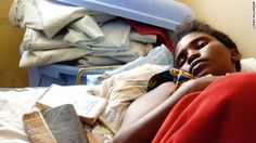 A fate worse than death for scores of African women.  A 16-year-old girl awaits surgery at HEAL Africa hospital in the Democratic Republic of Congo. Her baby died after six days of labor, and she continuously leaks urine because of obstetric fistula.
