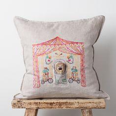 circus tent pocket pillow