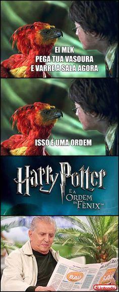 A História Por Trás De Harry Potter. Piada infames. adoro