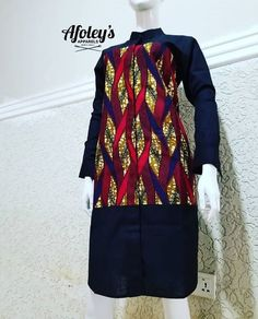 Ankara print with crepe from Diyanu - Ankara Dresses, Shirts & Short African Dresses, African Blouses, Latest African Fashion Dresses, African Inspired Fashion, African Print Fashion, African Prints, Short Dresses, African Attire, African Wear