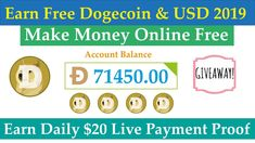 30 Best Earn Free Dogecoin images in 2019