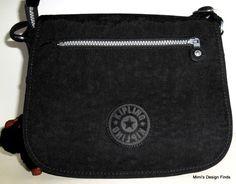 KIPLING ATTYSON Crossbody Messenger Bag *NEW* Black Nylon HB6897 Adj Strap NWT #Kipling #MessengerCrossBody