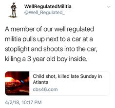 WHO THE FUCK SAYS WE DON'T NEED GUN CONTROL?!?!?