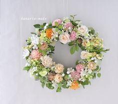 ハンドメイドマーケット minne(ミンネ)| やさしくて・・・flowers in green leaves