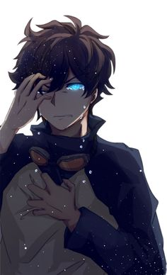Pin by pphs on anime ( boys ) anime, anime art, anime guys. Hot Anime Boy, Boys Anime, Cool Anime Guys, Anime Boy Crying, Brown Hair Anime Boy, Anime Drawing Styles, Guy Drawing, Manga Drawing, Character Drawing