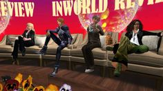 Inworld Review: 19th January 14.Mal and Tara are joined by @Joyce Bettencourt and @Maria Korolov . Filmed by Geo Meek.