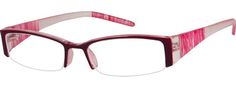 8281 Plastic Fashion Half-Rim Frame-XslJlSgA