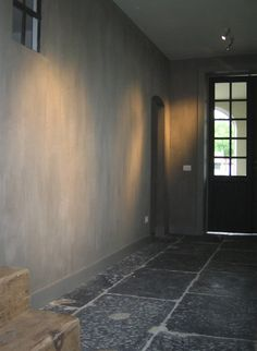 Floors for laundry/mudroom Refurbished farmhouse in Nazareth, Belgium