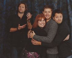they were on a roll lol. They are so funny and so great with fans!