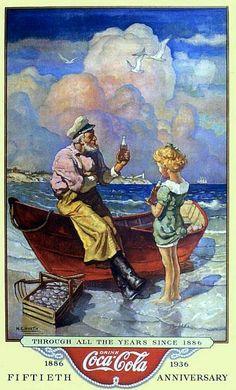 N.C. Wyeth 1936 Coke Add.