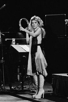 Stevie Nicks - see we love the same things tambourine!!