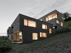 THINK ARCHITECTURE / THINK ARCHITECTURE / Monolith Meilen / Wohnungsbau/Mehrfamilienhäuser