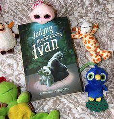 """Pożeram strony!!!: Katherine Applegate - """"Jedyny i niepowtarzalny Ivan"""""""