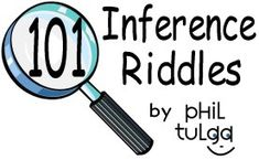 Fun riddles to practice making inferences - Re-pinned by @PediaStaff – Please Visit http://ht.ly/63sNt for all our pediatric therapy pins