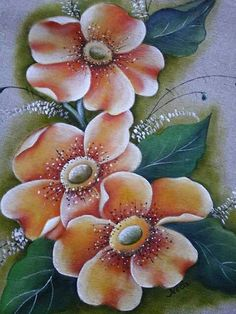 China Painting, Tole Painting, Fabric Painting, Fabric Paint Designs, Beautiful Flowers Wallpapers, One Stroke Painting, Rangoli Designs, Flower Wallpaper, Bottle Art