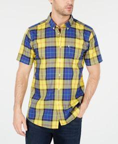Fashion Lattice Plaid Men Polo Shirt Check Casual Tees Tops Mens Clothing Polo Shirt Men Short Sleeve Dark Blue Black High Quality Goods Tops & Tees