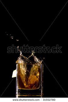 Tea Bag Flows Into The Tea Stock Photo 31552780 : Shutterstock