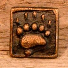 Rustic lodge Bear inch cabinet by BigRockMetalWorks Cabinet Knobs, Cabinet Hardware, Mountain Cottage, Antique Pewter, Artisan, Chips, Bronze, Rustic, Bear