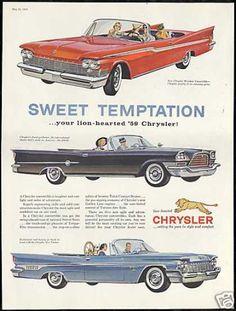 Chrysler New Yorker 300-E Windsor Convertible (1959)