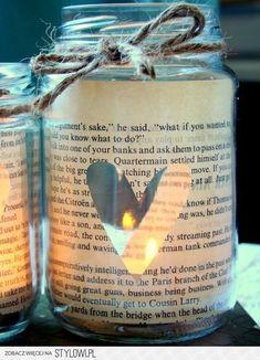 Diy candle holder