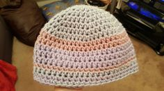 Chunky wool adult hat