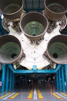 Saturn V rocket at Kennedy Space Center
