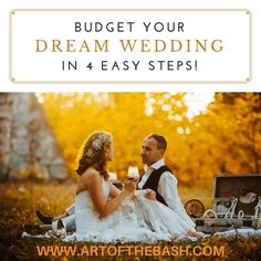 Budget your Dream Wedding in 4 Easy Steps