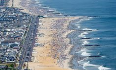 An aerial view of jam-packed Jersey Shore beaches (PHOTOS) | NJ.com
