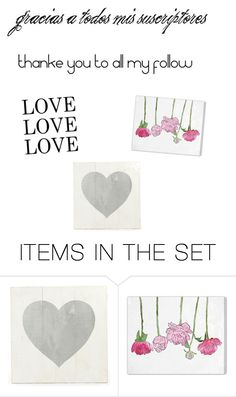 """thank or gracias"" by modapamy ❤ liked on Polyvore featuring art"