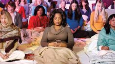 Oprah talks about Transcendental Meditation and TM Town where most of the town meditates.