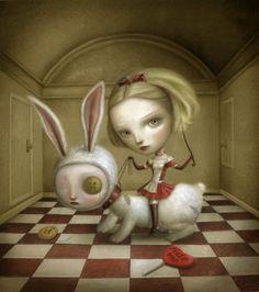 "Pop Surrealism; ""Stories from the Wonderland"""