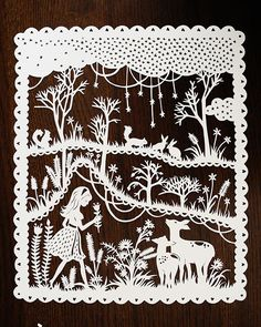 Enchantingly Intricate Papercuts Inspired by Fairy Tales - My Modern Met