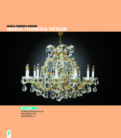 Maria Theresia Design Finest Chandeliers - 62