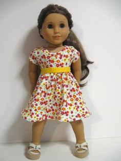 American Girl Doll Clothes Spring Garden by 123MULBERRYSTREET, $20.00