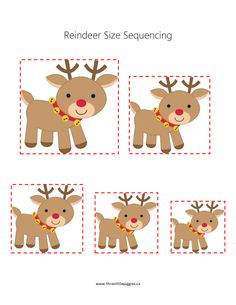ranger du plus petit au plus grand et inverse ! Christmas Math, Preschool Christmas, Toddler Christmas, Math Activities For Kids, Christmas Activities For Kids, Illumination Noel, Sudoku, Winter Theme, Holiday Crafts