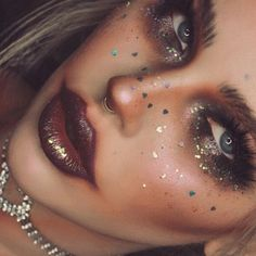 Jordi's Instagram page is filled with diverse looks; she posts a bloody bunny bride, a cyber punk rebel, all the way to the blonde bombshell look. She also specializes in anamorph makeup, turning herself into gorgeous creatures, much like the ones used in Snapchat filters. More: https://furlesscosmetics.com/blog/itslikelymakeup/ #makeup #makeupartist