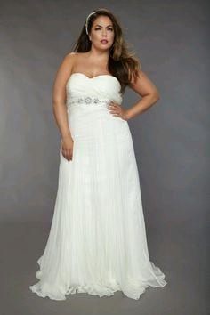 Plus size beach wedding dresses 2012