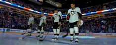 I don't know what Geno and Duper were doing, but it's hilariously coordinated.