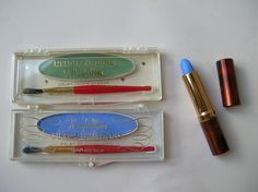Vintage Maybelline green and blue eyeshadows