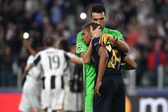 Buffon reaches a third #UCLfinal...    Mbappé's time will surely come...    #UCL