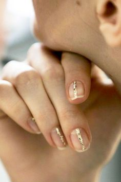 Favorite Sparkly Manicure (via Women's Wear Daily)